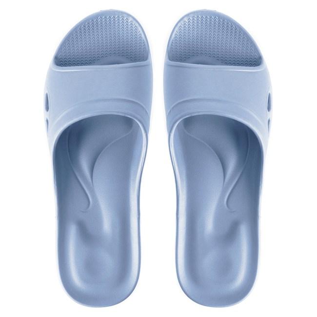 嚴選Q彈家居拖鞋 水藍色 M尺寸