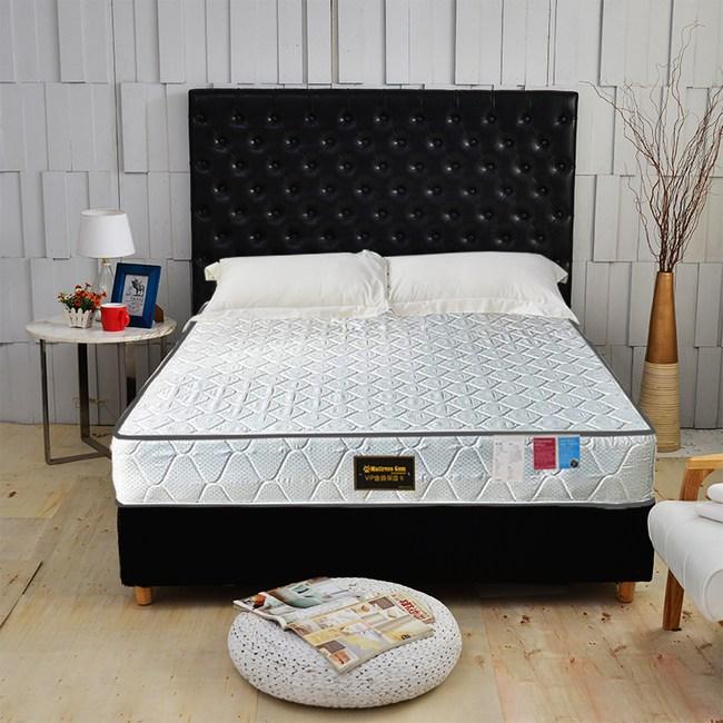 【睡芝寶】正反可睡-3M防潑水抗菌蜂巢獨立筒床墊雙人加大6尺