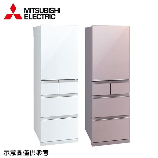 回函送★【MITSUBISHI三菱】455公升變頻五門冰箱MR-BC46Z水晶粉