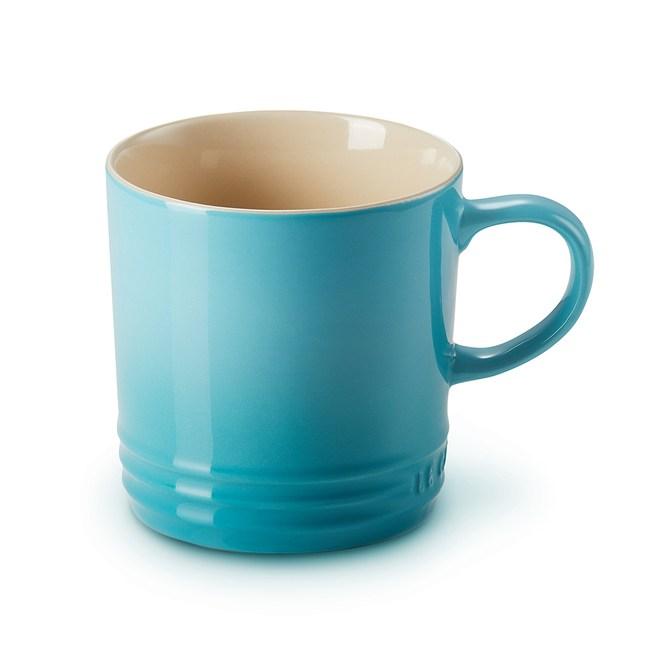 Le Creuset英式馬克杯-加勒比海藍