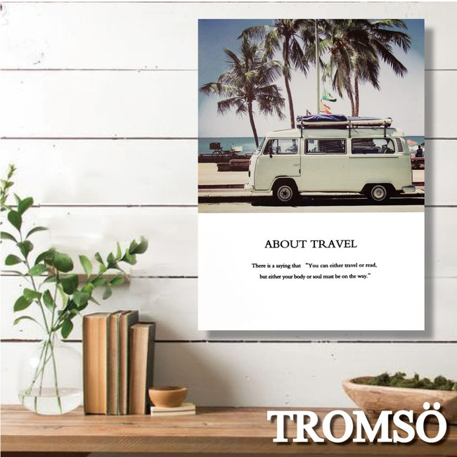 TROMSO時尚無框畫/加州假期