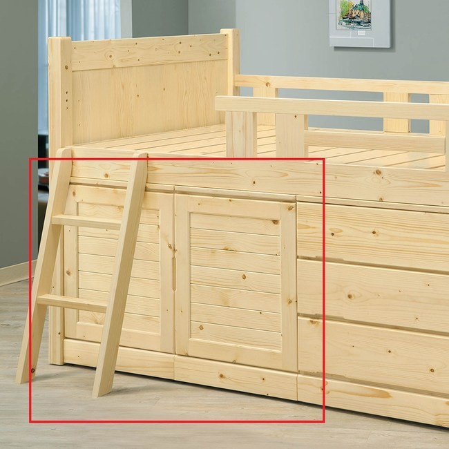 obis松木置物櫃松木