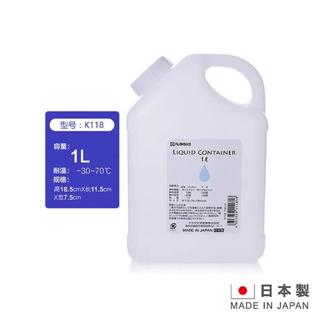 日本製造 NAKAYA 1公升多規格涼水壺 TA-K118
