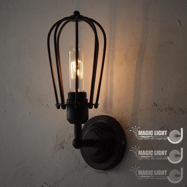 【光的魔法師 Magic Light】工業風壁燈 室內柚子壁燈