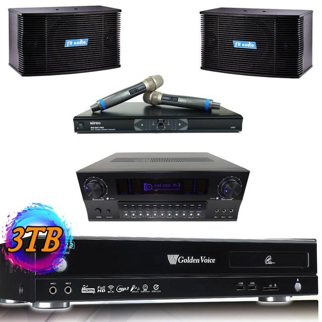 金嗓R2 3TB+X3+MR-865 PRO+A6