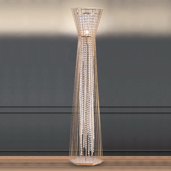 【大巨光】台製華麗風水晶燈_立地燈(LW-09-0221)