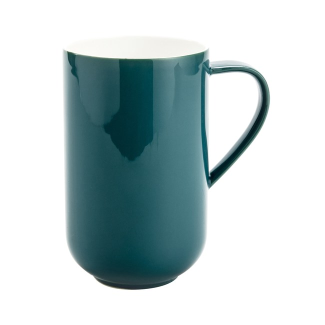 HOLA 漾采鎂質瓷馬克杯680ml 墨綠