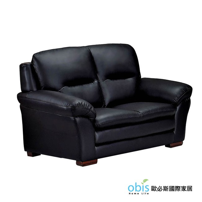 【obis】傑克半牛皮二人位沙發