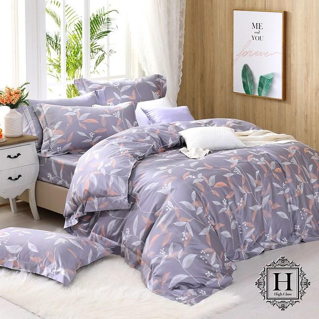 HOYA費加洛-特大四件式500織匹馬棉被套床包組(加大被套)