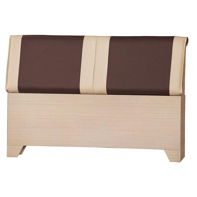 【YFS】麥克5尺拿鐵白橡床頭片-155x15x98cm