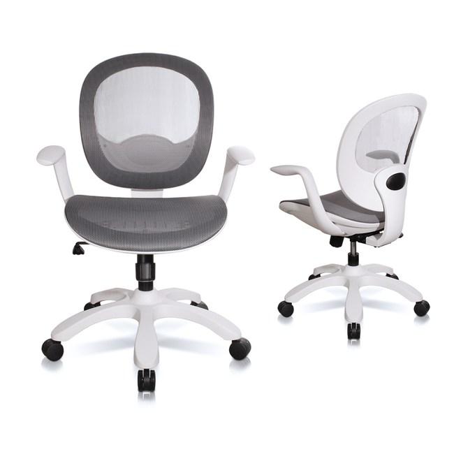 【C'est Chic】Sense理性與感性風尚電腦椅-MIT - 灰色