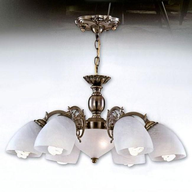 YPHOME 金屬吊燈六燈 S81253H