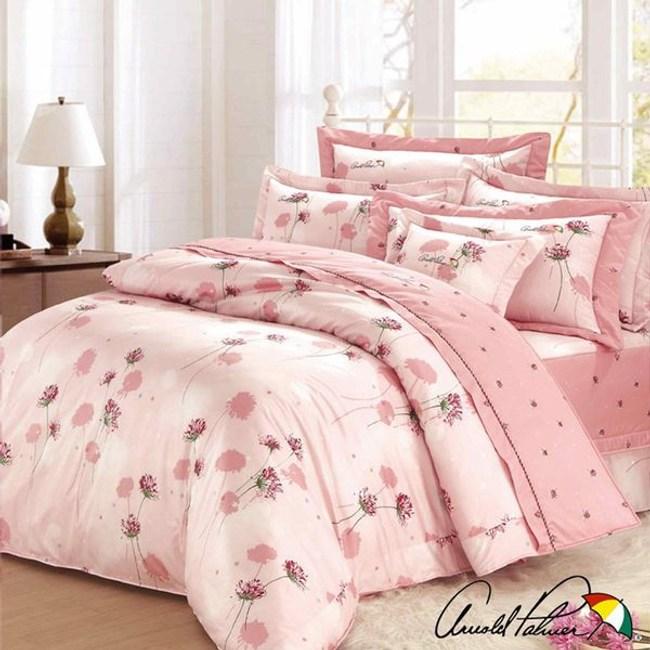 Arnold Palmer雨傘牌 花與夢境-精梳棉床罩雙人加大七件組