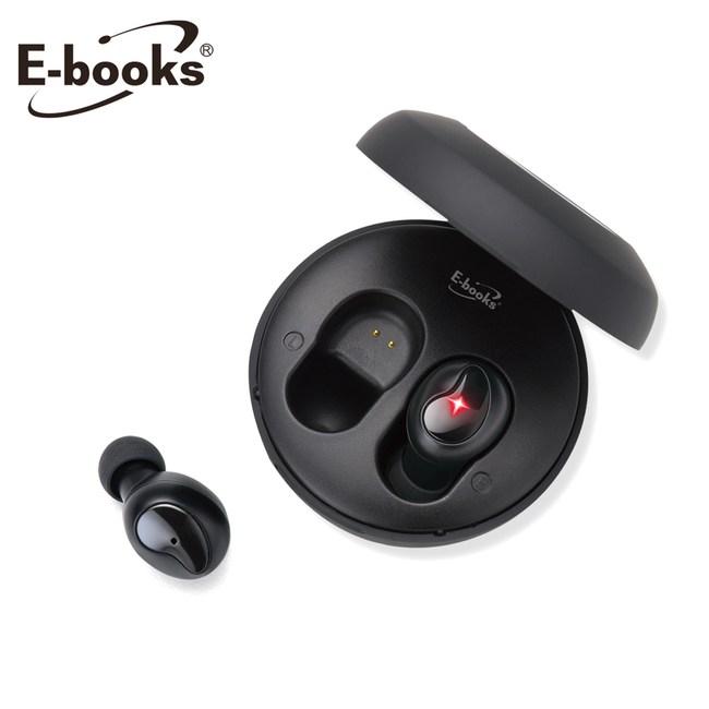 E-books SS10 真無線微型藍牙5.0耳機黑