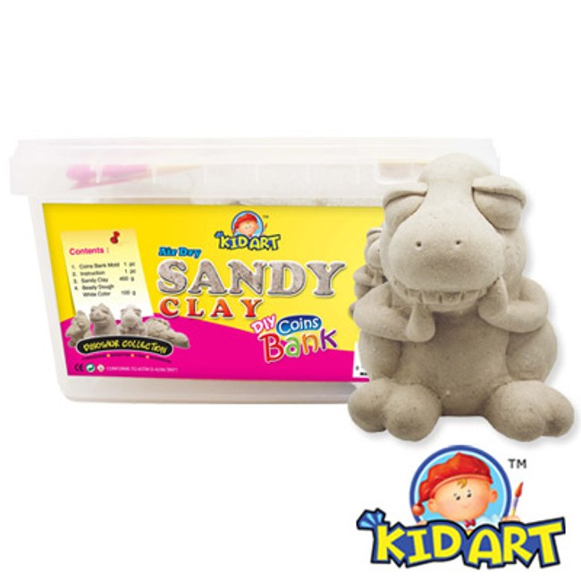KID ART 美國創意手作黏土 沙雕黏土(雷克斯龍)