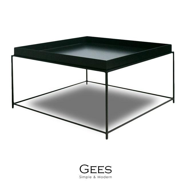 【obis】Gees吉司大茶几(二色)黑色