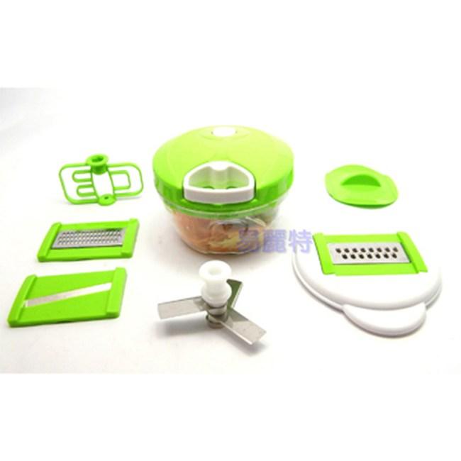 【易麗特】多功能二合一蔬菜處理器(贈水果刀×1支)