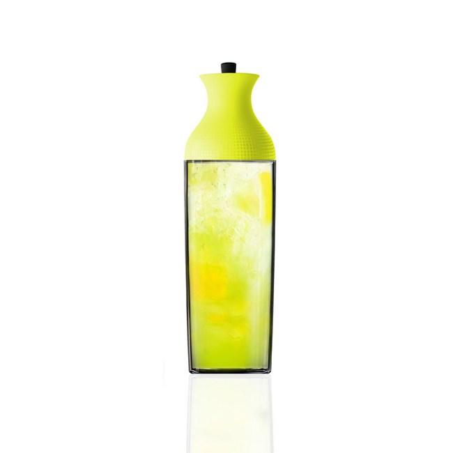 MIX冷泡茶胡頸瓶1100ml-萊姆黃