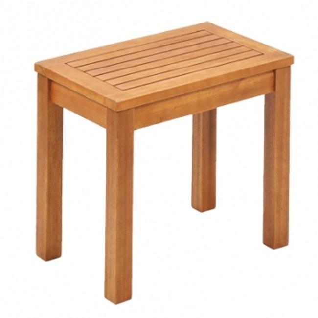 Green綠緻丹尼爾FSC實木短凳