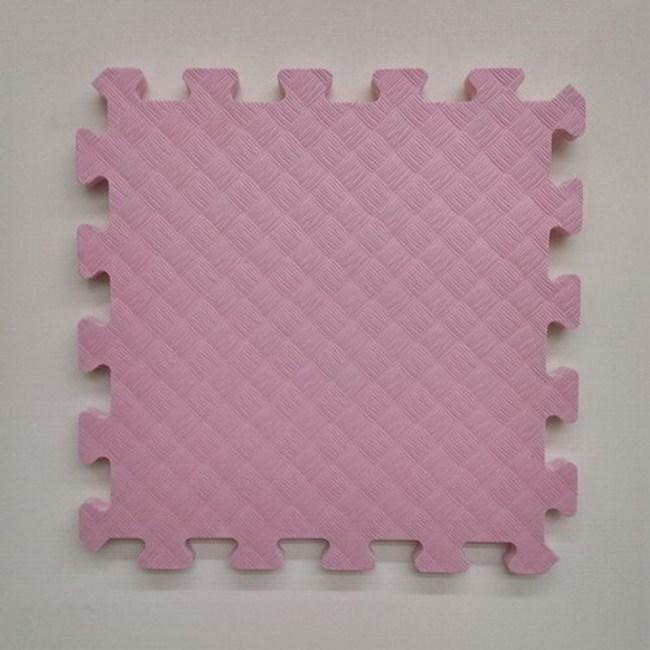 特力屋EVA安全地墊9入-粉紅32x32x1.4cm