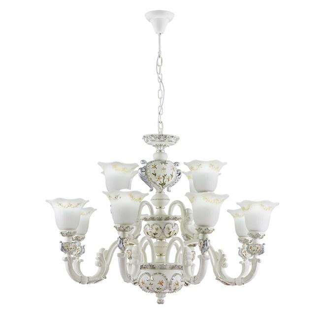 【大巨光】古典風8+4燈吊燈-大(BM-20471)W1060mmXH720mm
