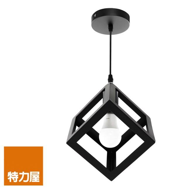 特力屋 洛克單燈吊燈 方形幾何