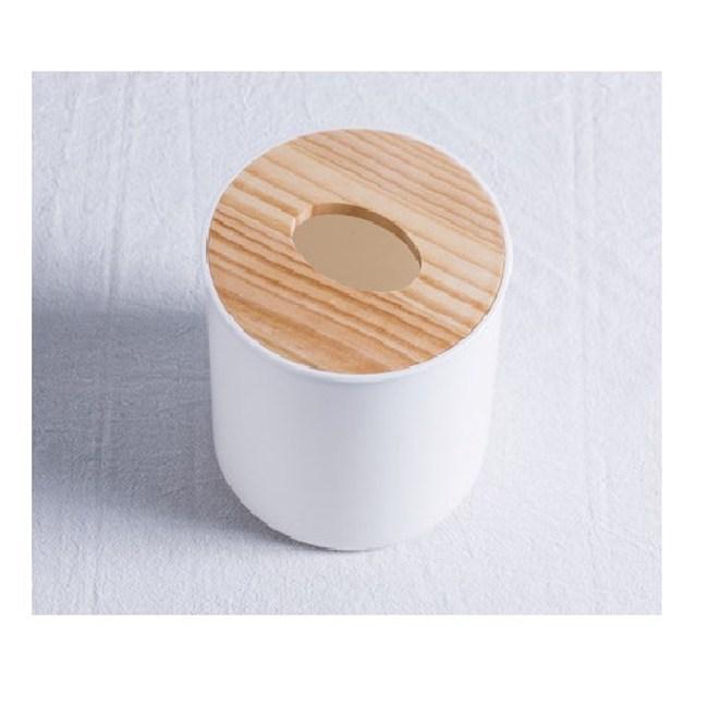 和風圓形面紙盒