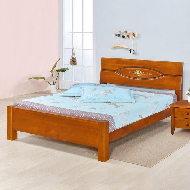 【YFS】麥倫5尺雙人床架-157x206x98cm
