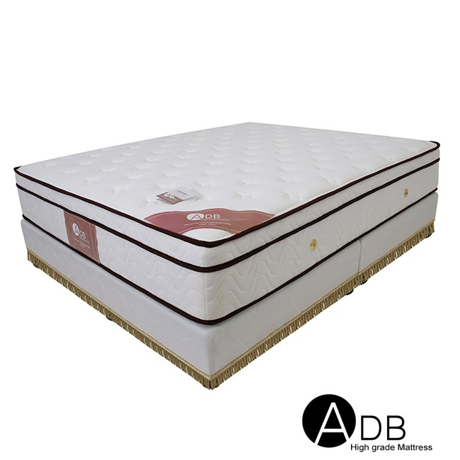 【ADB】Brad布拉德S81三線獨立筒床墊/雙人加大6尺