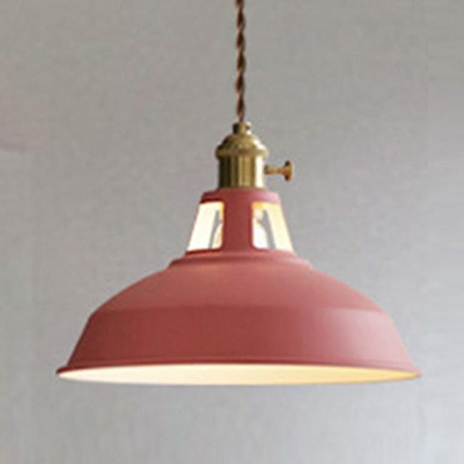 HONEY COMB 北歐風馬卡龍編織花線單吊燈 六色款 紅色 TA8822