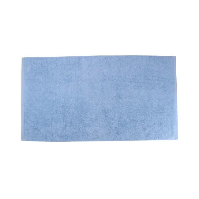 HOLA 土耳其純棉浴巾藍78x140cm
