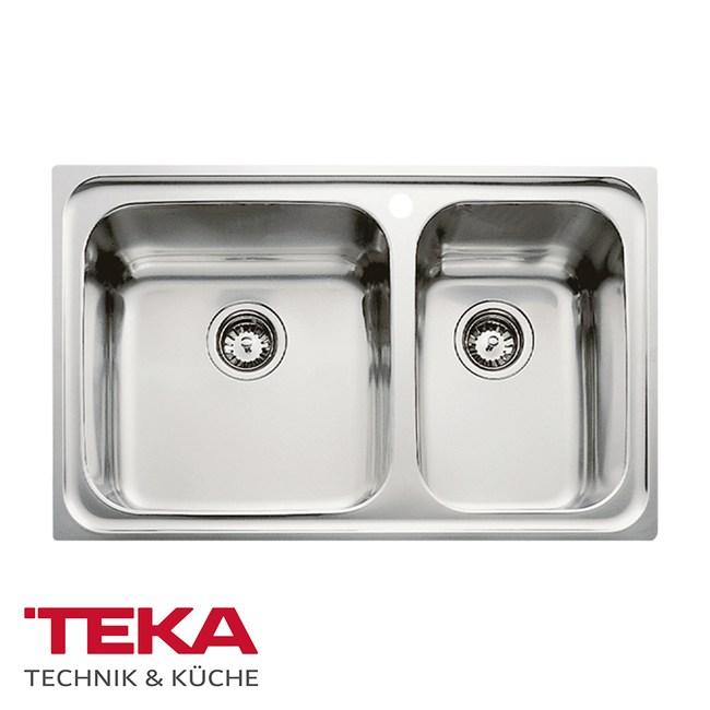 【MIDUOLI米多里】德國TEKA CLASSIC不銹鋼雙槽-左大