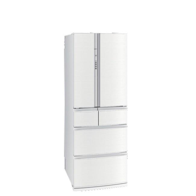 三菱513公升六門冰箱水晶白MR-RX51E-W-C