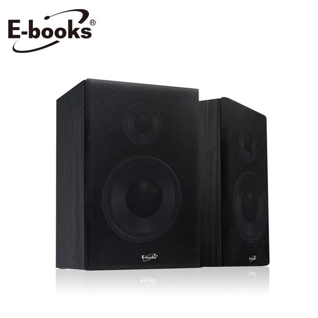 E-books D29 強效低音2.0聲道多媒體音箱黑