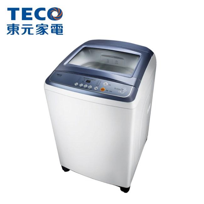【TECO 東元】14公斤定頻直立式洗衣機W1417UW