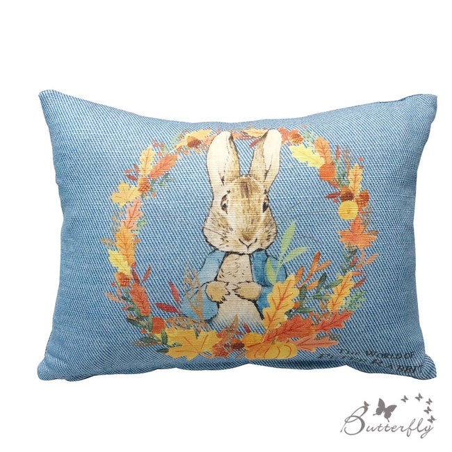 【BUTTERFLY】台製Peter Rabbit彼得兔經典系列小腰枕-立兔