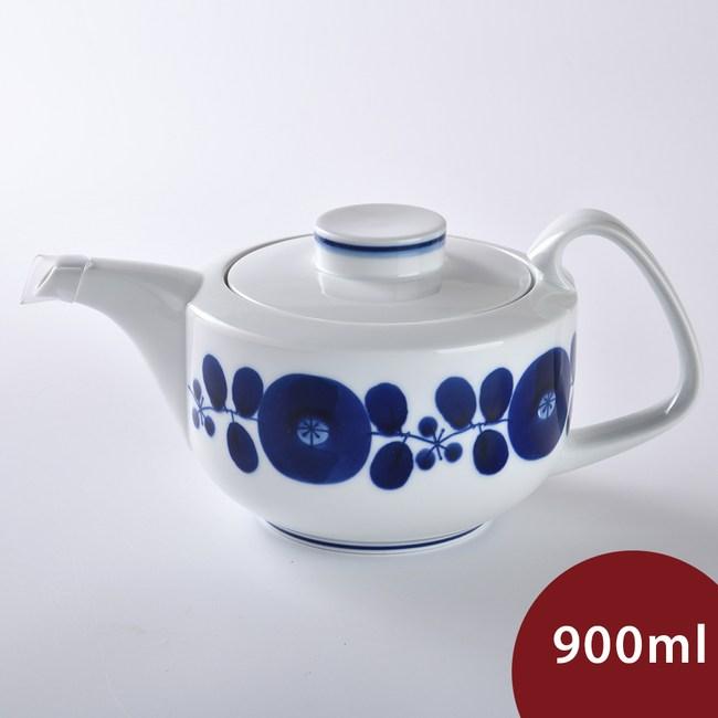 Hakusan  BLOOM 茶壺 花圈 900ml
