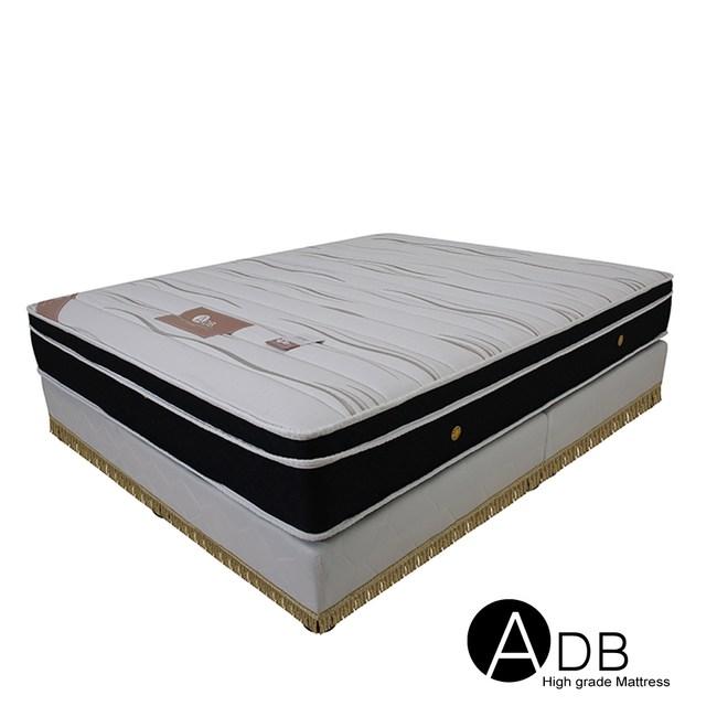 【ADB】卡爾王子感溫護背硬式三線獨立筒床墊/雙人加大6尺