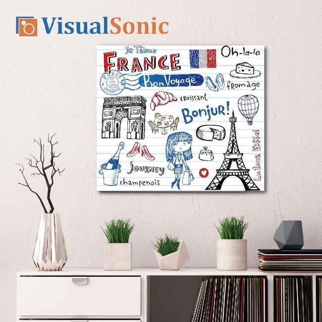 VISUAL SONIC超薄藍牙畫布音箱 France