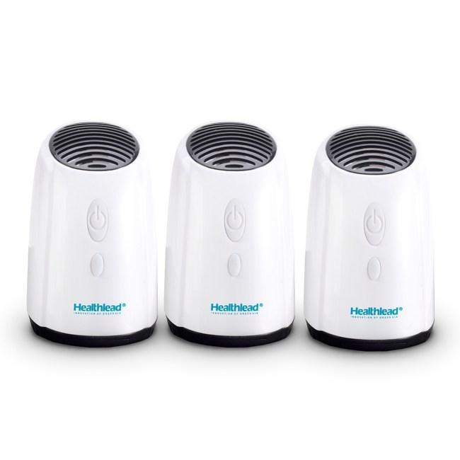 Healthlead迷你空氣清淨機白EPI-939-三入組EPI-939X3