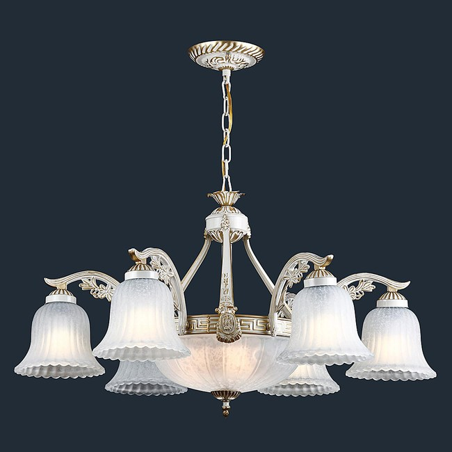 HONEY COMB 歐式客廳六燈吊燈BL90561