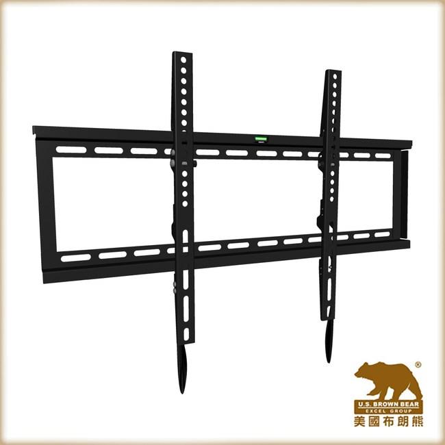 牆板固定式電視壁掛支架(適用42-80吋電視)