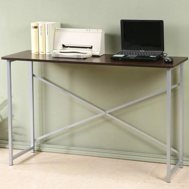 【Homelike】超值工作桌-寬120公分(胡桃色)