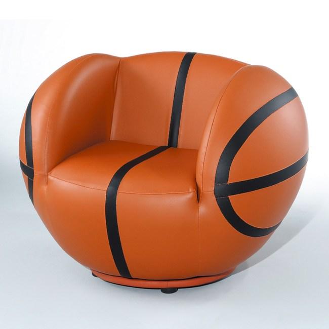 【YFS】米娜旋轉造型凳-80x80x70cm(兩種造型可選)籃球