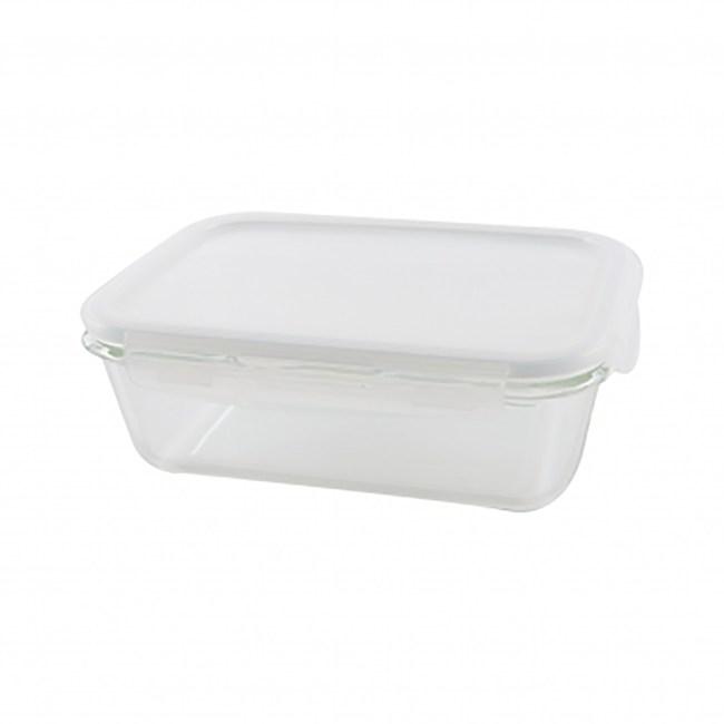 樂扣樂扣耐熱玻璃長方保鮮盒1.35L