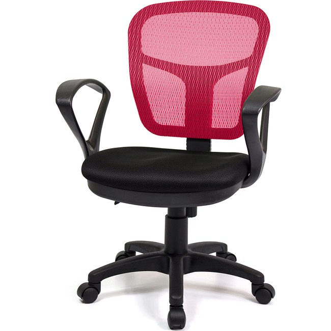 aaronation愛倫國度 小可愛系列雙扶手秘書椅 i-RS-170紅