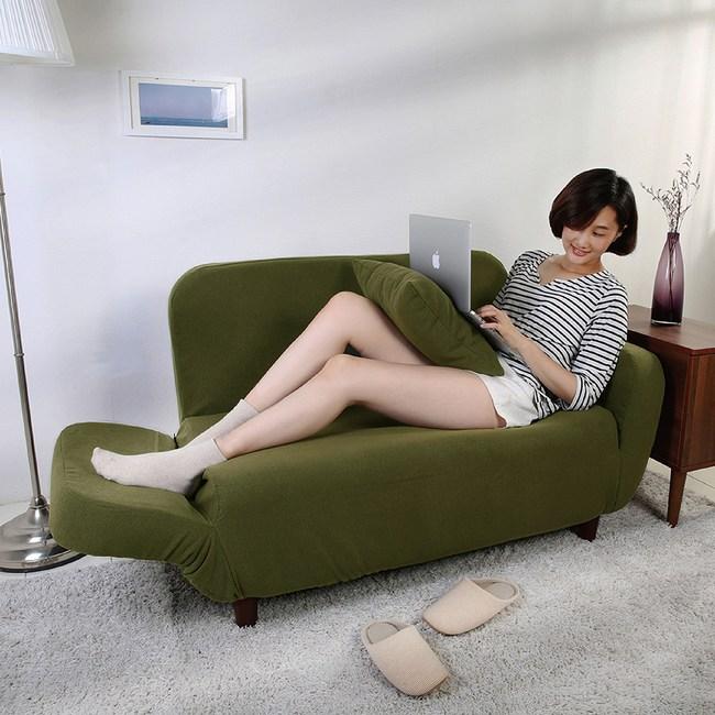 伊登 杰斯 雙人沙發椅(軍綠)
