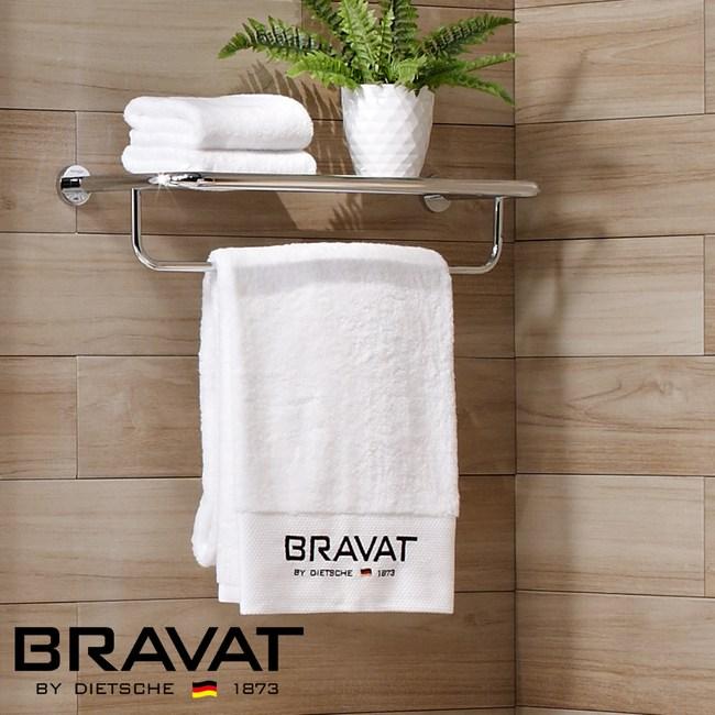 BRAVAT 貝朗 融宜不鏽鋼毛巾置物架 D7117C