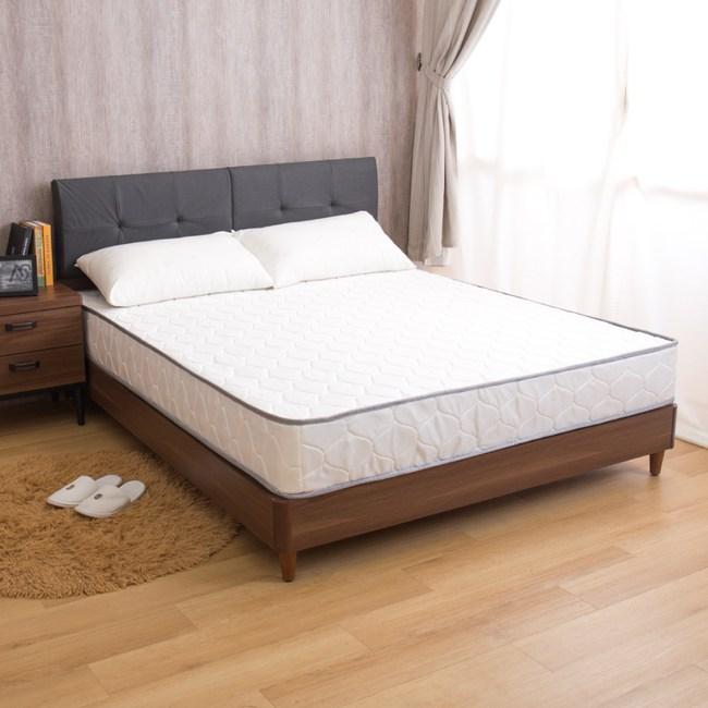 【YFS】瑪莉提黃金舒適款-歐式緹花高彈力支撐單人加大3.5尺獨立筒床