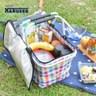 【日本Kakusee料理道具】折疊式保溫保冷袋格紋